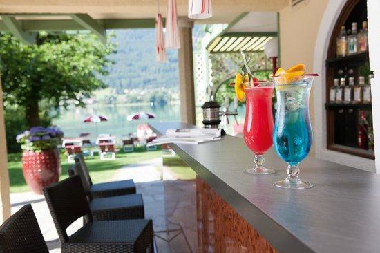 Hotel Seewinkel: Cocktail am See