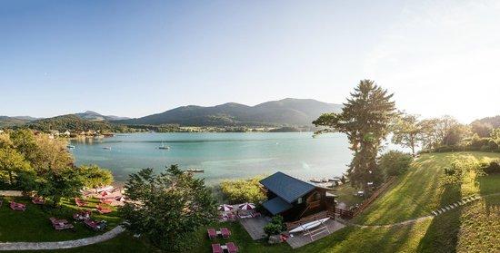Hotel Seewinkel: herrlicher Panoramablick vom Zimmerbalkon aus