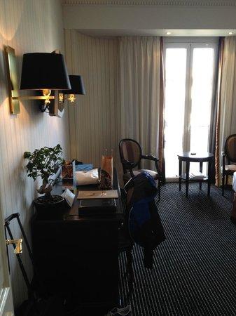 Hôtel Barrière Le Majestic Cannes : la chambre