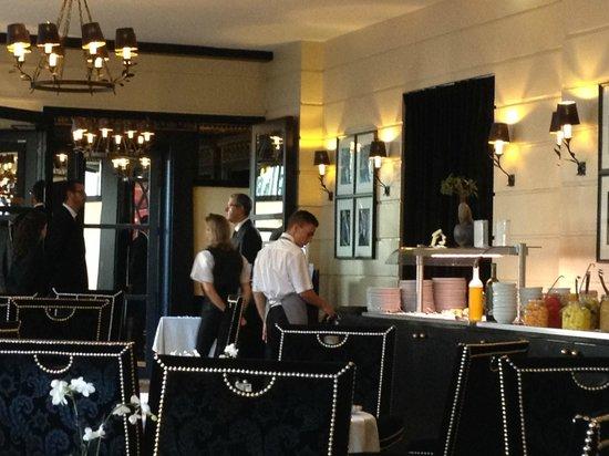 Hôtel Barrière Le Majestic Cannes : restaurant le fouquet's