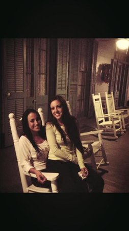 The Myrtles Plantation: on the rocking chairs