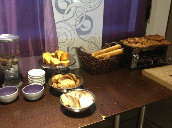 Brit Hotel Le Madison : petit dejeuner