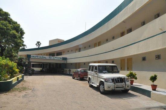 Ttdc Tamil Nadu Hotel Half Moon Building