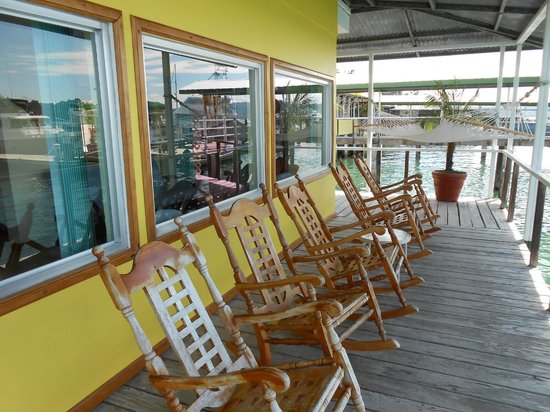 Banana Bay Marina: Terrace