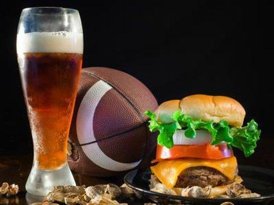 Brewtown Burgers: Beer, Football, Burgers...Nuff said!
