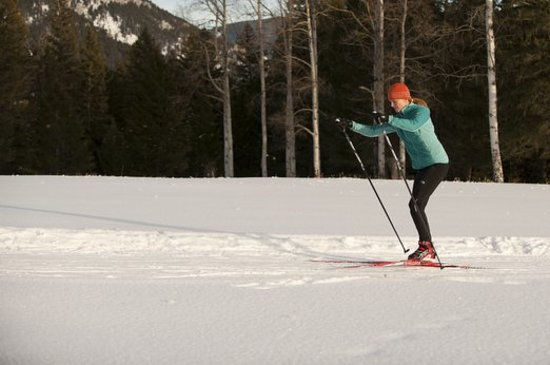 Big Sky, MT: Nordic Skiing on over 85 km of trails