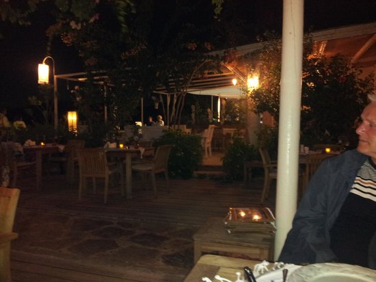 Oyster Restaurant: the grounds