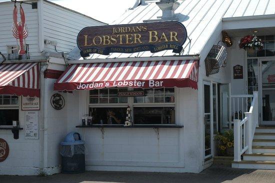 Outdoor Service Bar Picture Of Jordan S Lobster Farm Island Park Tripadvisor
