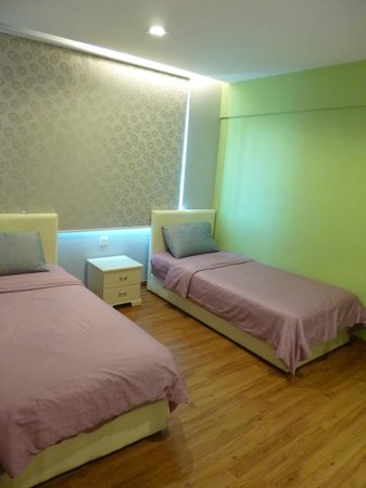 Malacca Hotel Apartment: Twin room