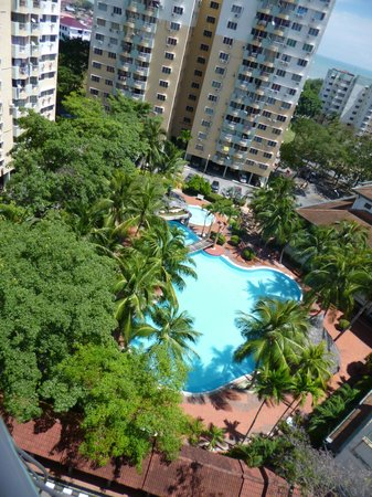 Malacca Hotel Apartment: View from Balcony