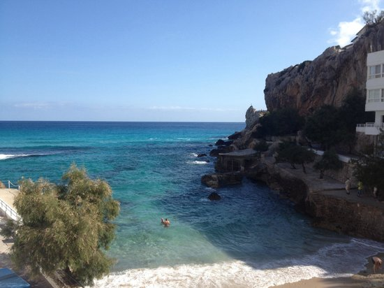 Cala Sant Vicenc, Spagna: View from the room