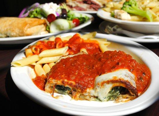 Blue Ribbon Restaurant & Bakery: Homemade Greek & Italian