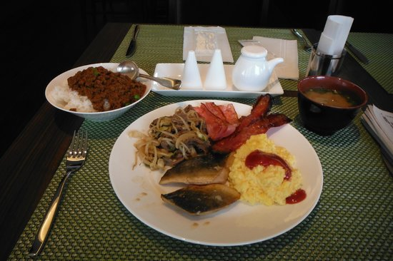 ANA Crowne Plaza Hotel Kushiro: 朝食ビュッフェ