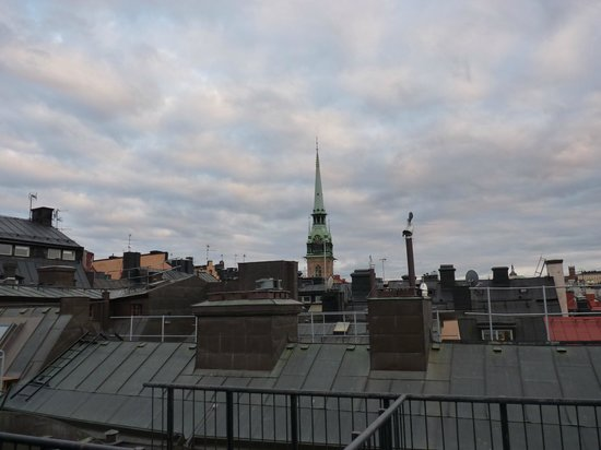 Lord Nelson Hotel: Rooftop view