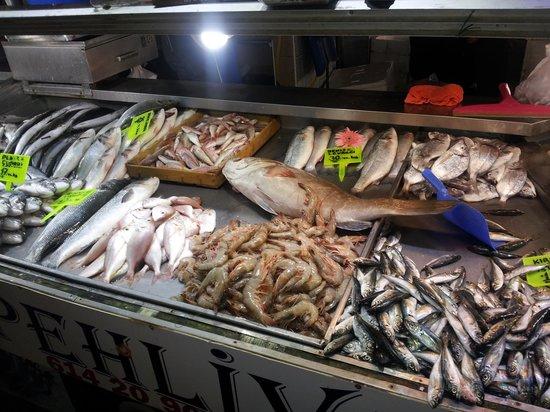 Fethiye Fish Market: fish market