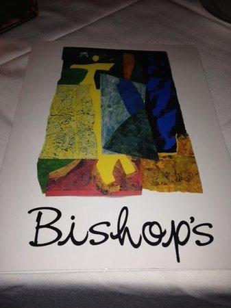 Bishop's: Menu