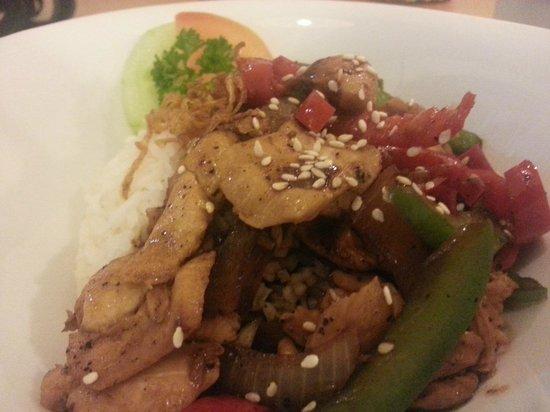 Kabuka: Black pepper chicken