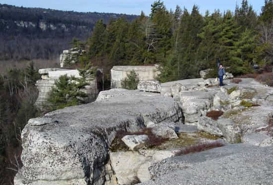 Minnewaska State Park Preserve: the view from Gertrude's Nose X'mas 2012