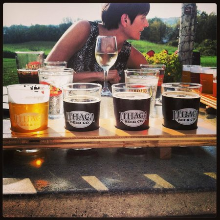 Ithaca Beer Co.: Sunny Sunday!