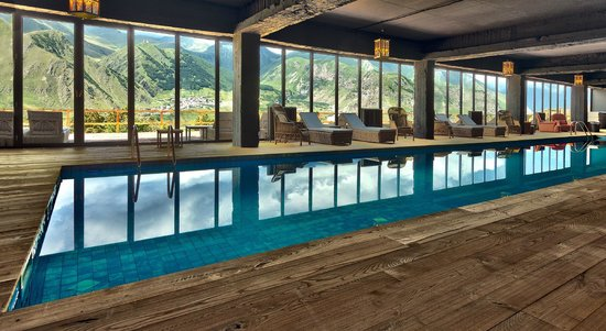 Rooms Hotel Kazbegi Indoor Pool With Beautiful Views