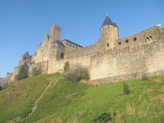 Adonis Carcassonne - Residence la Barbacane: Una parte de la zona amurallada