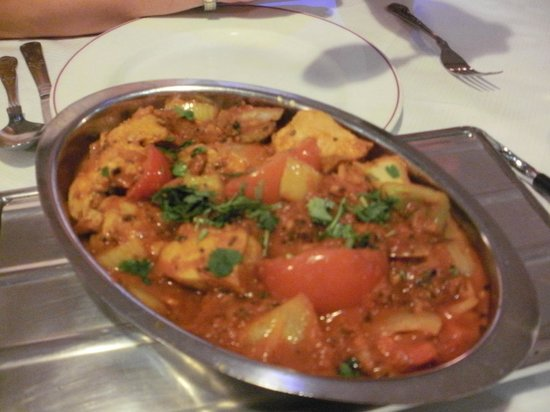 The Rajah Restaurant: the wife's curry