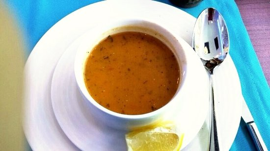 Sofra Istanbul Restaurant: The soup