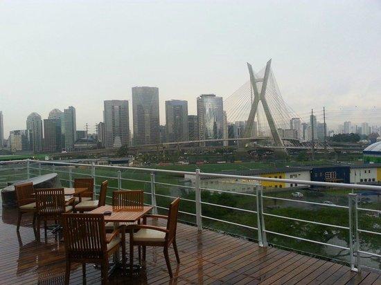 Novotel Sao Paulo Morumbi: Vista do restaurante