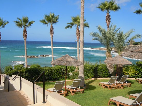 Atlantica Golden Beach Hotel: views from sun terrace