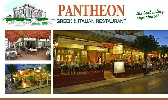 Pantheon Greek Family Taverna: pantheon