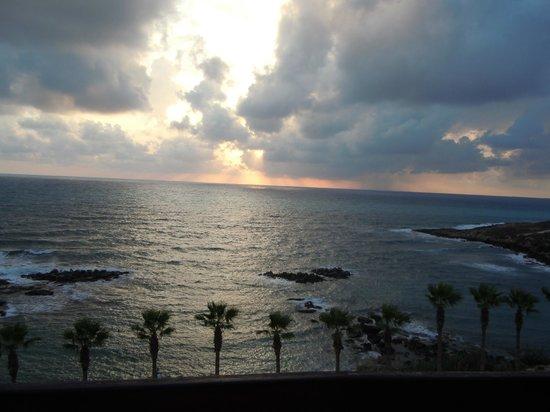 Atlantica Golden Beach Hotel: sunset from balcony