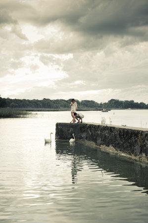 La Pinte du Vieux Manoir: Der Wasserwelt ganz nah
