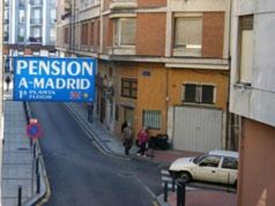 Pension Madrid 21: LETRERO