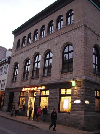 Les Lofts 1048 : Building Exterior - #202 is center 3 large windows