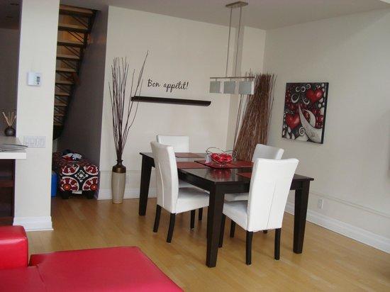 Les Lofts 1048 : Dining Room