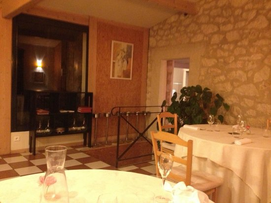 Restaurant la Falaise: Dining room
