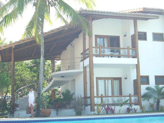 Enseada dos Corais Praia Hotel : Anexo dos dormitórios que fica em frente a piscina