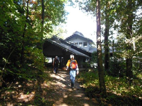 Len Foote Hike Inn: Arriving at the Hike Inn