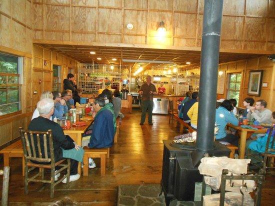 Len Foote Hike Inn: Dinning Room