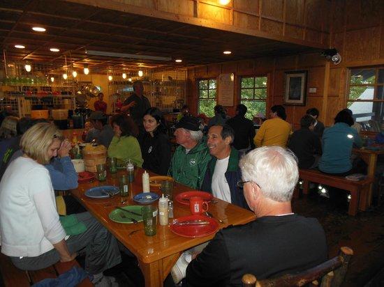Len Foote Hike Inn: Dinner