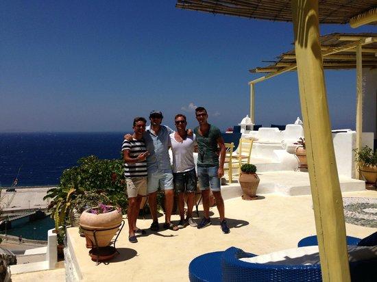 Omiros Hotel: BYE YANNIS!!THANK YOU!