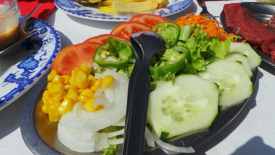 Restaurante Mar Azul: Salad