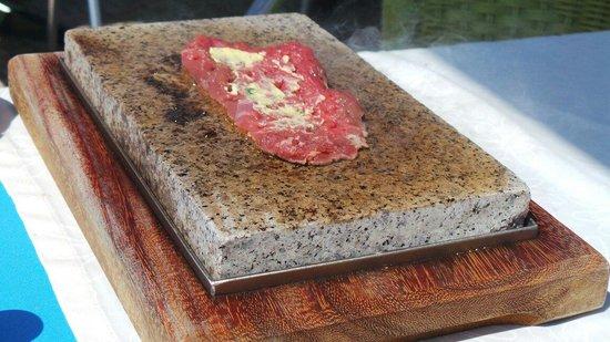 Restaurante Mar Azul : Hot stone beef