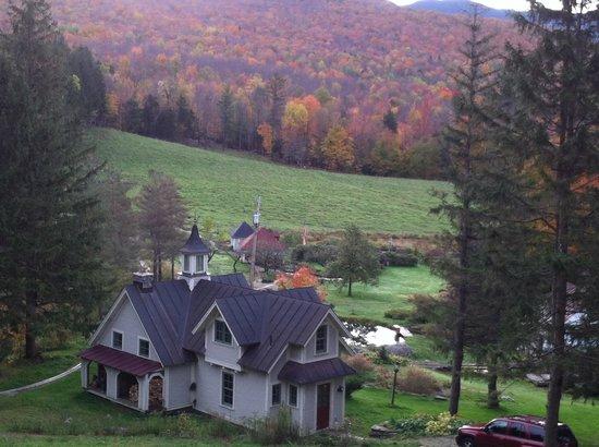 Windekind Farm : Upper view from new cottage