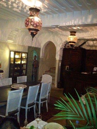 Palacio de las Especias: el comedor, rico rico