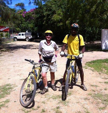 Bike the Coast: Benson and me.