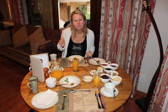 Claires of Sandton: Breakfast