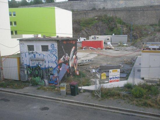 Les Gens de Mer - Brest Hotel: desde mi ventana