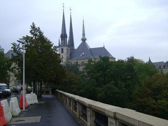 Notre Dame Cathedral (Cathedrale Notre Dame): Notre Dame Cathedral, Ciudad de Luxemburgo, Luxemburgo.
