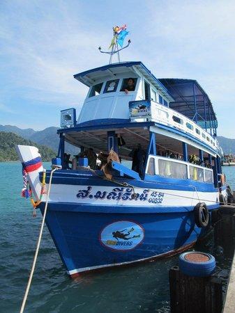Eco-Divers: ECO DIVERS boat